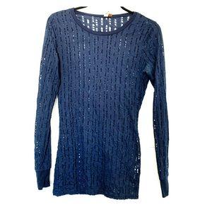 💕3/$40💕 Navy Blue Long Sleeve